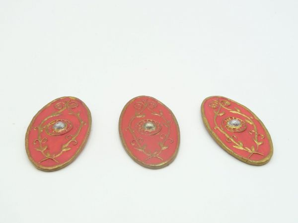3 beautiful Roman shields - well suited for modifications