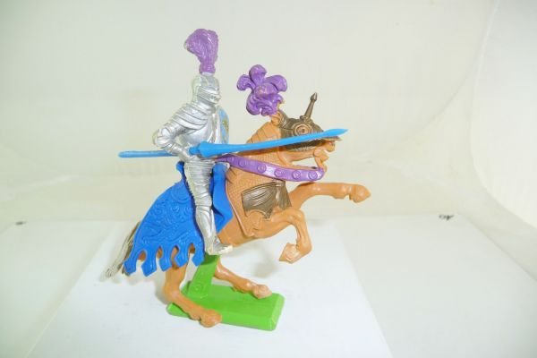 Britains Deetail Knight riding with lance - nice colouring