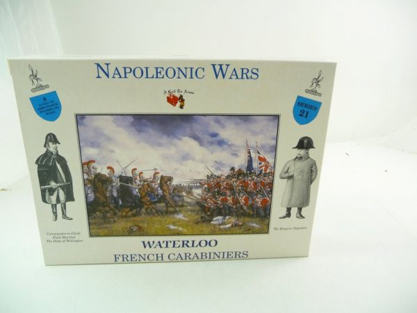 1:32 A Call to Arms Nap. Wars Waterloo French Carabiniers Series 21 - orig. packaging, sealed