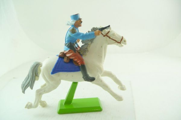 Britains Deetail Foreign legionnaire riding, officer with pistol