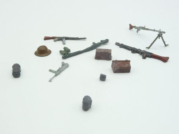 12-teiliges Zubehörset WK-Figuren - tolle Ergänzung für Dioramen