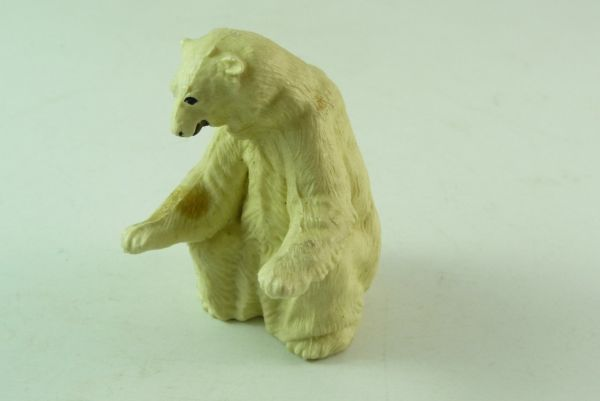 Britains Ice bear, polar bear sitting, No. 1333 - early version