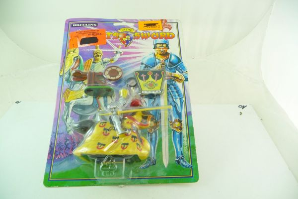 Britains Crusader series - lancer, tournament knight (for rolling) - orig. packing