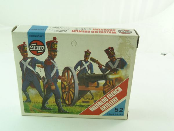 Airfix 1:72 Waterloo - French Artillery No. 01737-8 - orig. packing, figures complete