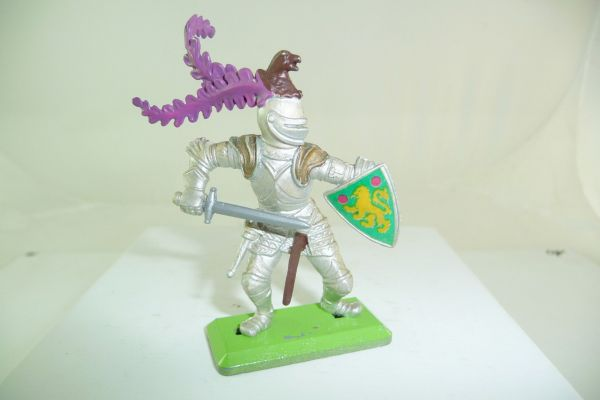 Britains Deetail Knight attacking with sword