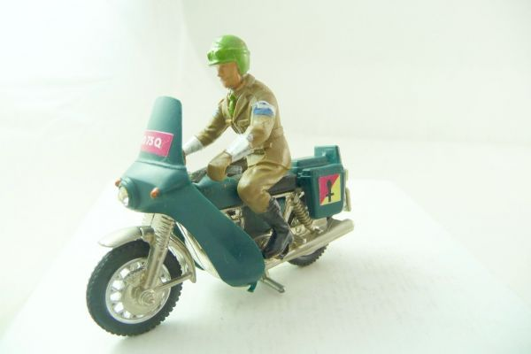 Britains Deetail British Army; Dispatch Rider, No. 9672
