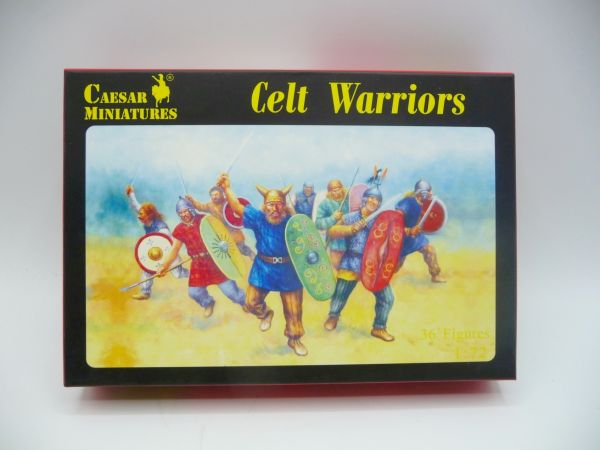 Caesar Miniatures 1:72 Celt Warriors, History 064 - OVP, Figuren lose, komplett