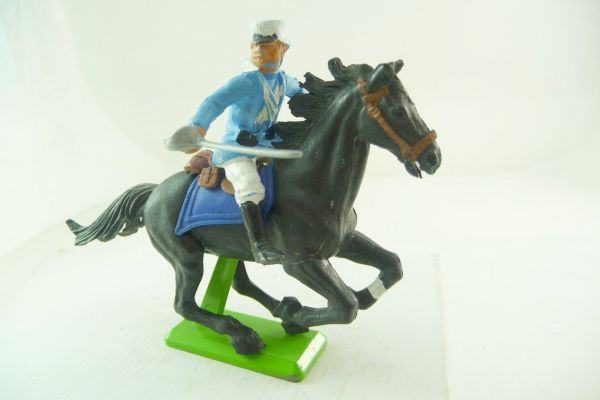 Britains Deetail Foreign legionnaire riding, sabre down