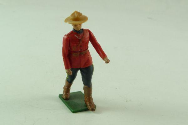 Britains Kanadischer Mountie zu Fuß