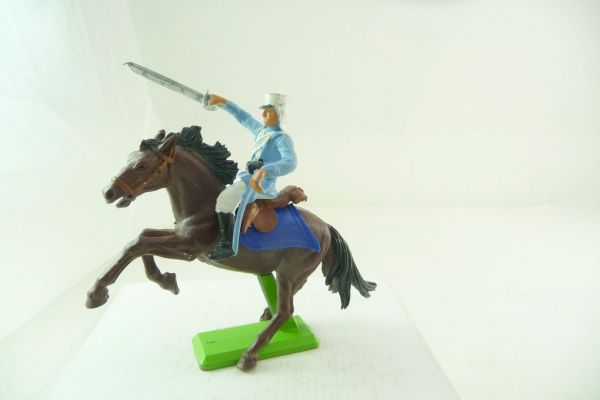 Britains Deetail Foreign legionnaire on horseback, storming with sabre - rare figure