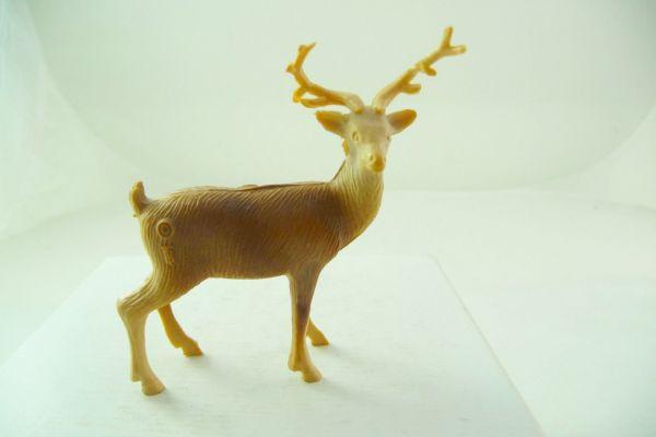 Bergen Toy Hirsch, Länge 4 cm (Geweih geklebt)