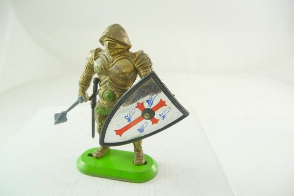 Britains Deetail Knight standing with mace - used