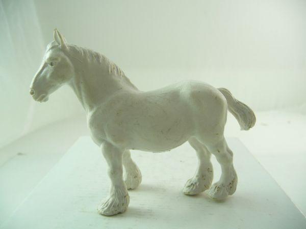 Britains Heavy horse, white