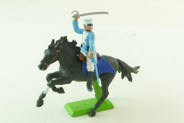 Britains Deetail Foreign legionnaire riding, sabre next to head