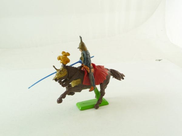 Britains Deetail Turk riding with lance and shield