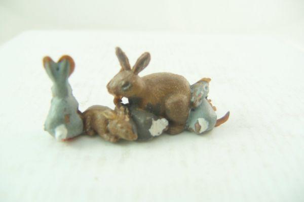 Britains Kaninchenfamilie