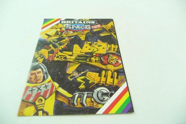 Britains Space Faltblatt, 6-seitig mit Neuheiten aus dem All