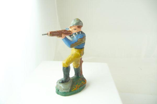 Beck Cowboy schießend - Farbverluste, siehe Fotos