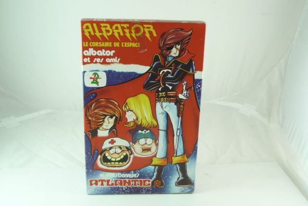 Atlantic 1:72 Albator and Friends; Albator et ses amis, 16 parts - orig. packing