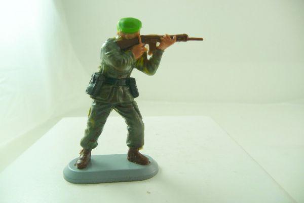 Britains Deetail Marine Kommandos; Soldat, Gewehr schießend