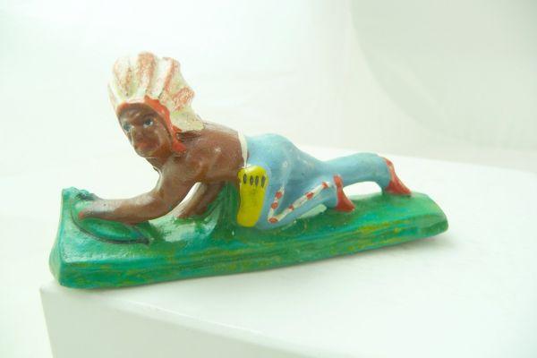Blechschmidt Indianer anschleichend