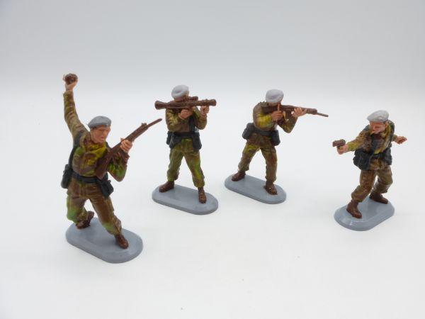 Britains Deetail 4 verschiedene Paratrooper