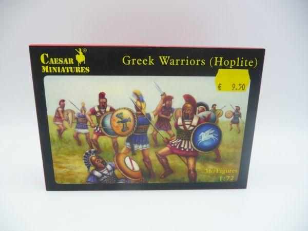 Caesar Miniatures 1:72 Greek Warriors (Hoplite), History 065 - OVP, Figuren lose, komplett