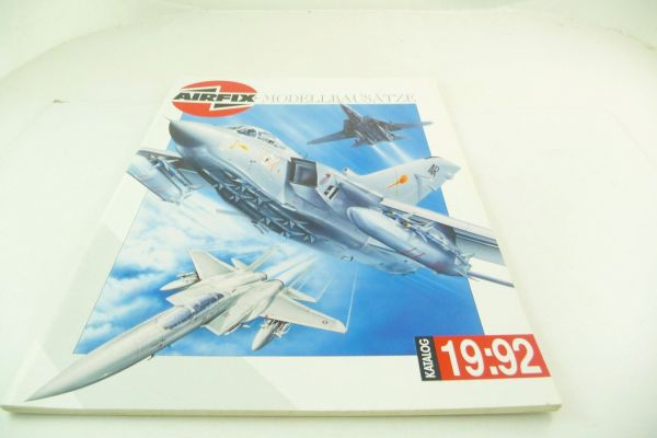 "Airfix Catalogue ""Modellbausätze"" 1992, 60 pages, DIN A4 - 1 page loose"