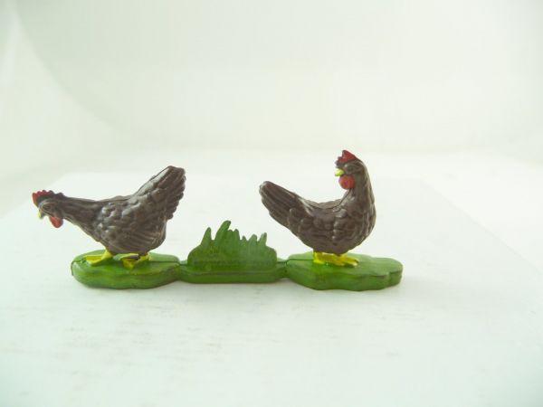 Britains 2 Hühner, braun
