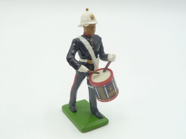 Britains Deetail (Metal) Music corps, musicians with small drum