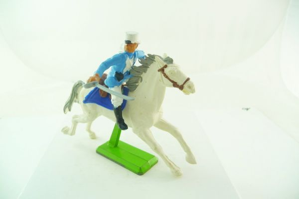 Britains Deetail Foreign legion: soldier riding, holding sabre at side