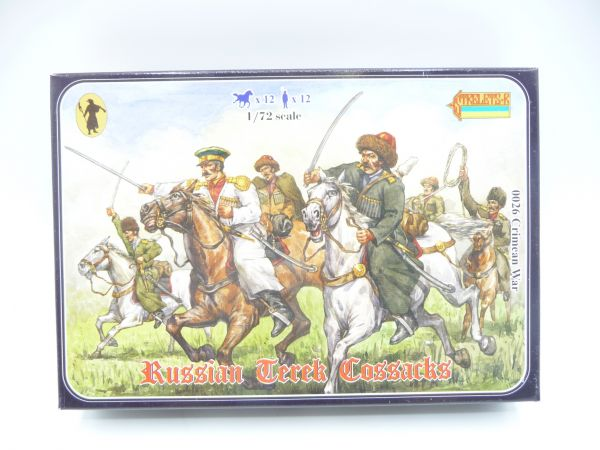 Strelets*R 1:72 Crimean Russian Mounted Terek Cossacks, Nr. 0026 - Box Top