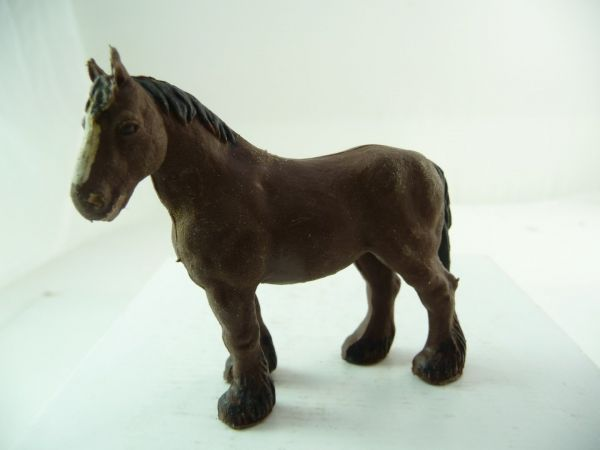 Britains Heavy horse, brown - great painting