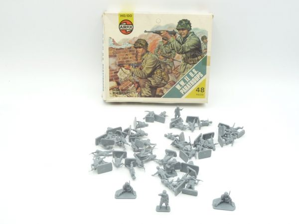 Airfix 1:72 WW II US-Paratroops, Nr. 01751-4 - Figuren, lose, komplett