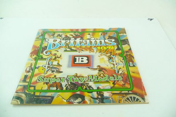 Britains 24-pages coloured catalogue of 1974 - with creases