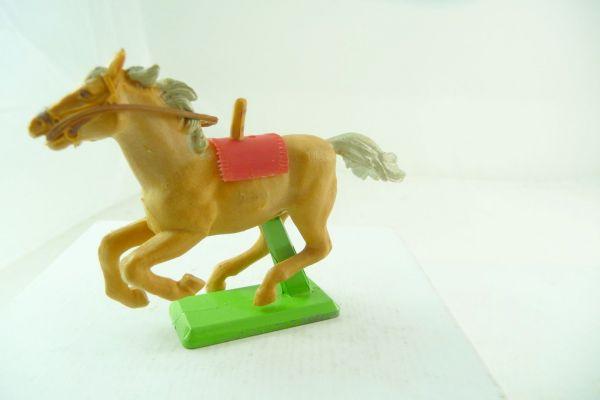 Britains Deetail Pferd beige, galoppierend (rote Decke)