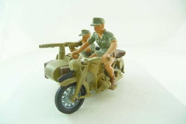 Britains Deetail Africa Corps Motorcyclist with sidecar