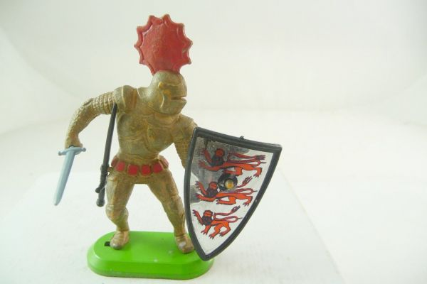 Britains Deetail Knight with sword + shield