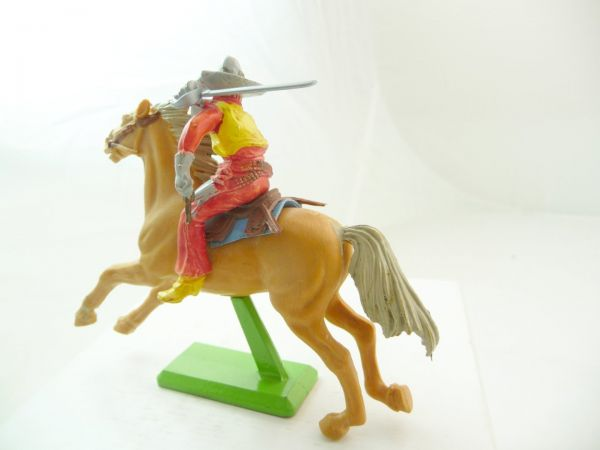 Britains Deetail Mexican on horseback - colour variation