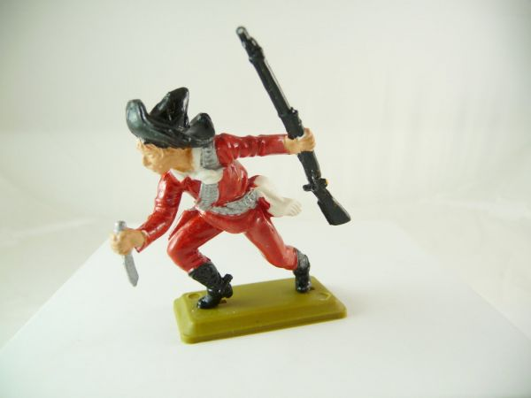 Britains Deetail Mexican with knife + rifle, red/silver, Britains DSG