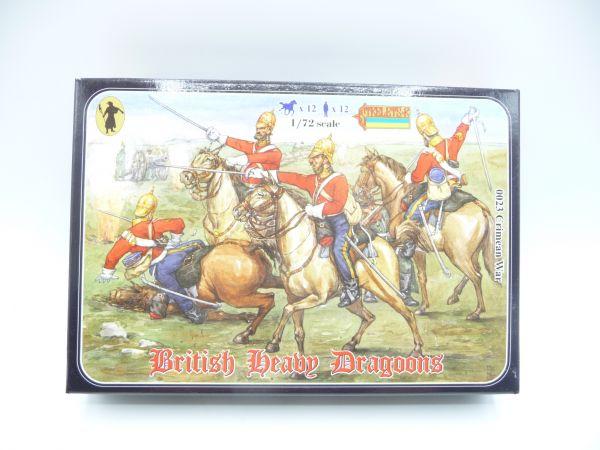 Strelets*R 1:72 Crimean British Heavy Dragoons, Nr. 0023 - OVP, Figuren am Guss