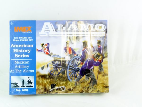 IMEX 1:72 American History - Mexican Artillery at the Alamo, Nr. 520 - OVP