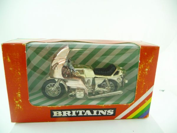 Britains Motorbike Norton, No. 9654 - orig. packing, top condition, box see photos