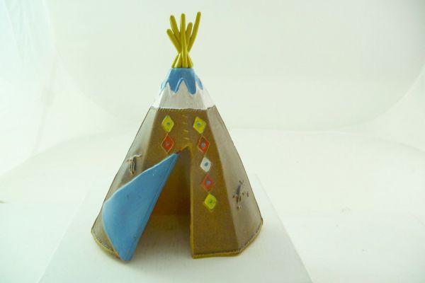 Britains Deetail Indianertipi, braun mit blauem Eingang