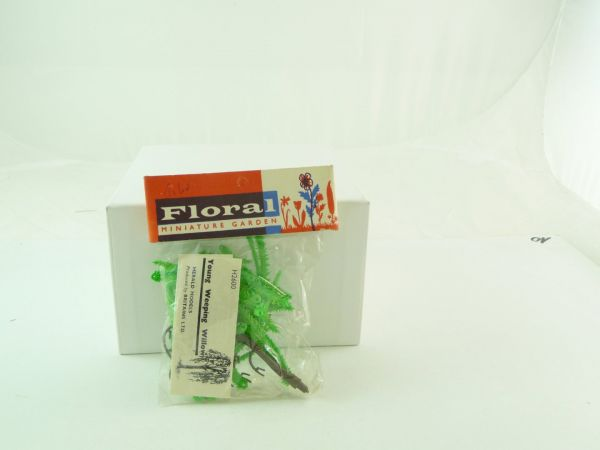 "Britains Floral Miniature Garden ""Young Weeping Willow"" - orig. packing"