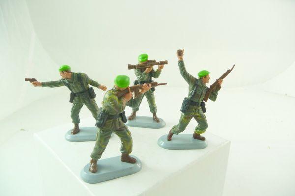 Britains Deetail Set of soldiers Marine Commandos, No. 6320 (4 figures)