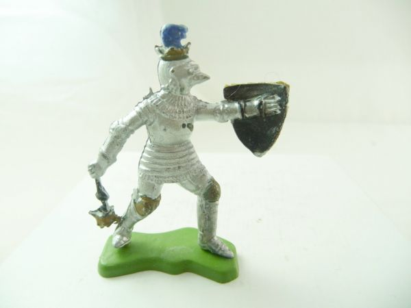Britains Deetail Knight with flail + shield
