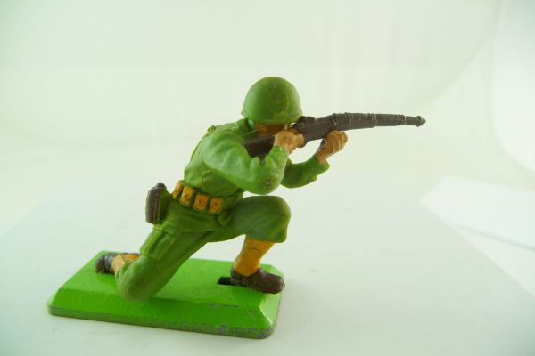 Britains Deetail American 1. version kneeling firing