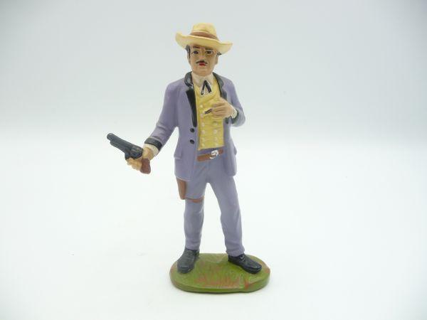Friedel Karl May Serie: Santer (12 cm Größe), 60er-Jahre - seltene Figur