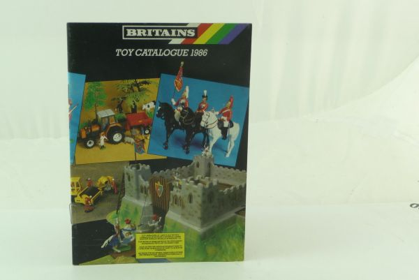 Britains 24-pages catalogue of 1986 - very good condition, no wrinkles